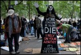 Occupy Wall St: Political Protest as Performance Art – Benny Zable hits NYC