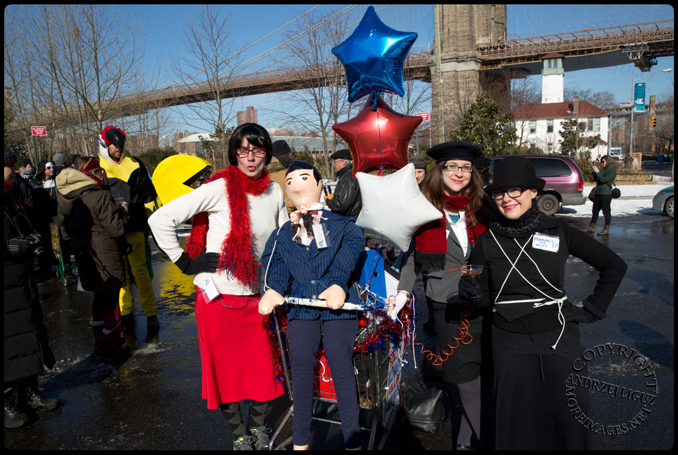 The 2013 NYC Idiotarod © Andrzej Liguz/moreimages.net. Not to be used without permission