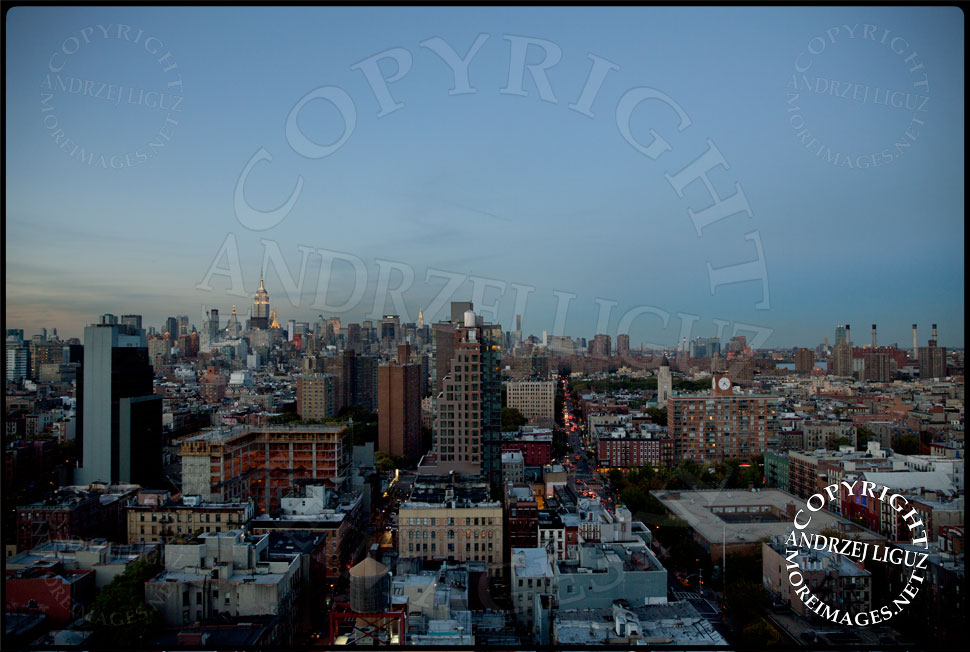 The stunning view from the rooftop of the Hotel on Rivington at the Press Mixer © Andrzej Liguz/moreimages.net. Not to be used without permission