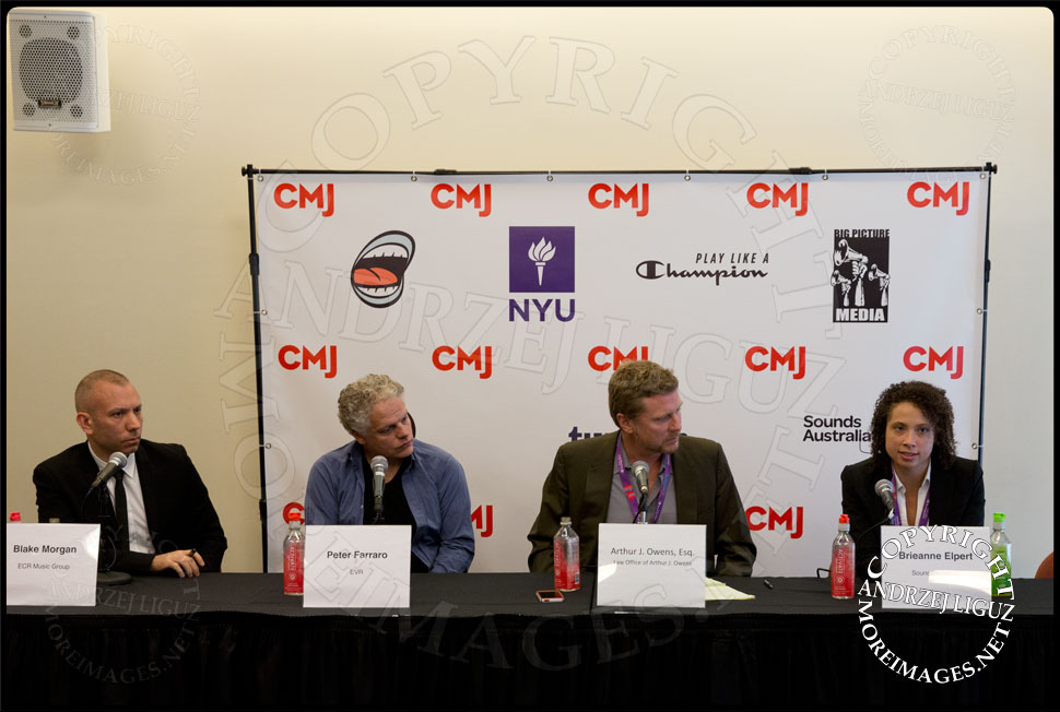 CMJ panel at the Kimmel Center © Andrzej Liguz/moreimages.net. Not to be used without permission