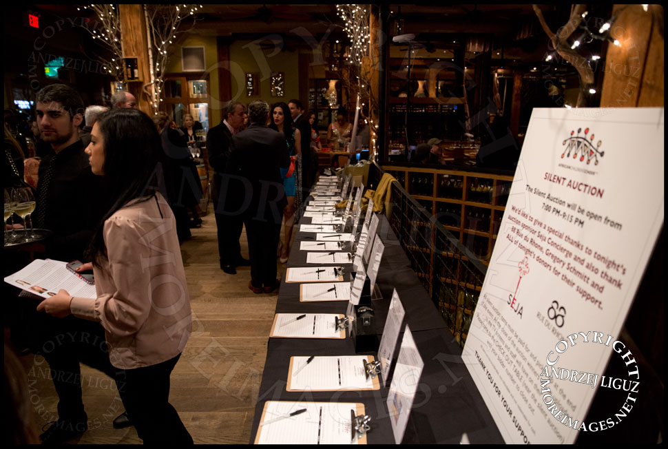 Silent Auction at the African Childrens Choir 5th Annual NYC ChangeMakers Gala  © Andrzej Liguz/moreimages.net. Not to be used without permission