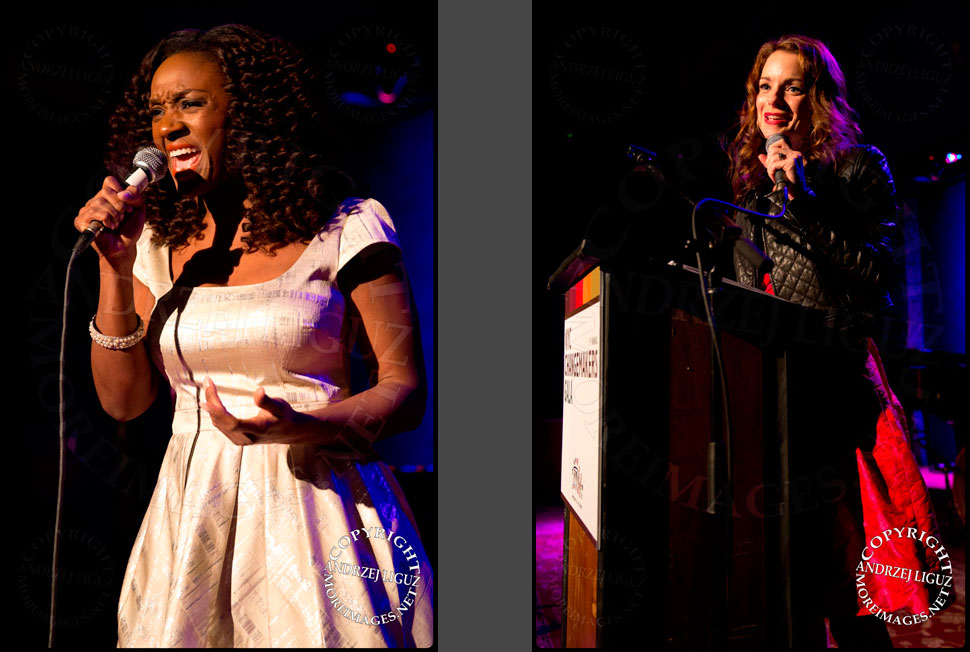 Saycon Sengbloh performing / Kimberly Williams-Paisley honoring Connie Britton at the African Childrens Choir 5th Annual NYC ChangeMakers Gala © Andrzej Liguz/moreimages.net. Not to be used without permission
