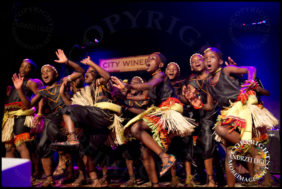 The African Childrens Choir performing at their 5th Annual NYC ChangeMakers Gala  © Andrzej Liguz/moreimages.net. Not to be used without permission