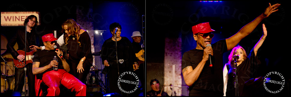 Bobby Womack performing with his daughter GinaRe at City Winery in NYC © Andrzej Liguz/moreimages.net. Not to be used without permission