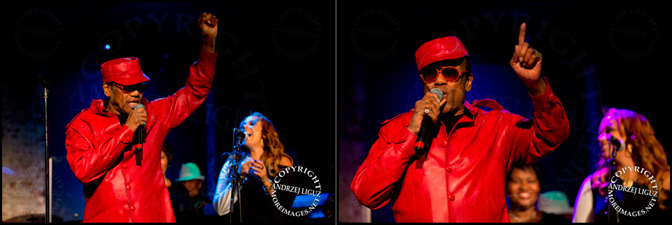 Bobby Womack performing at City Winery in NYC with backing singer (and daughter) GinaRe Womack © Andrzej Liguz/moreimages.net. Not to be used without permission