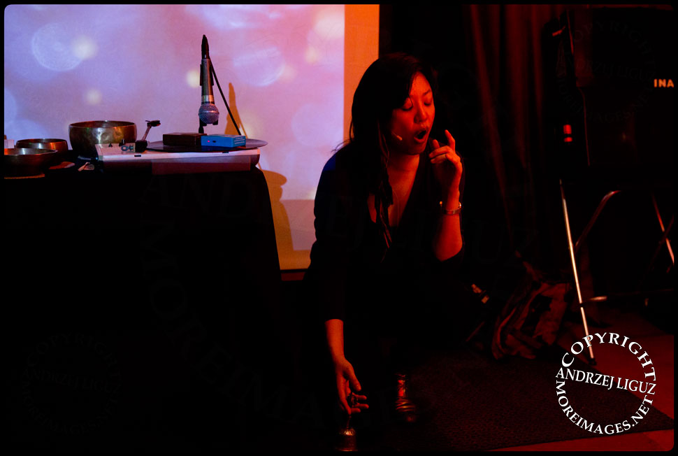 Bora Yoon performing at Gralbum launch © Andrzej Liguz/moreimages.net. Not to be used without permission