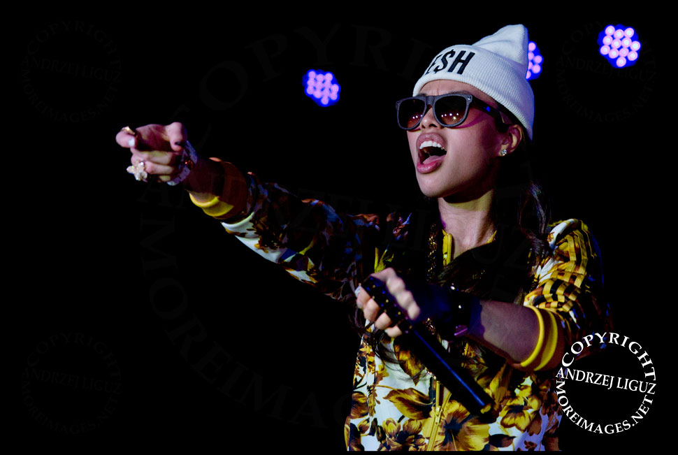 Chinese rapper Miss Ko at CMJ 2013 © Andrzej Liguz/moreimages.net. Not to be used without permission