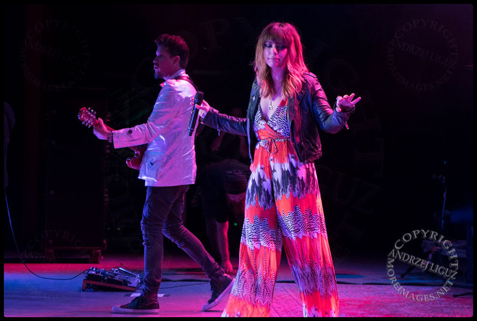 LouLou with Rob at the Greek Theater in LA