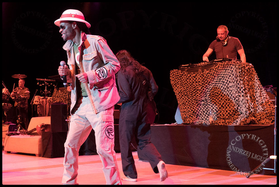 Zee and Eric Hilton at the Greek Theater in LA