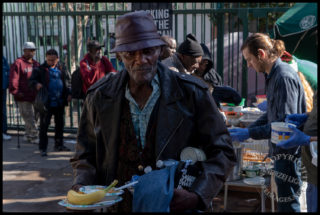 It Was A Skid Row Christmas: Feeding some of the 50,000 Homeless in LA