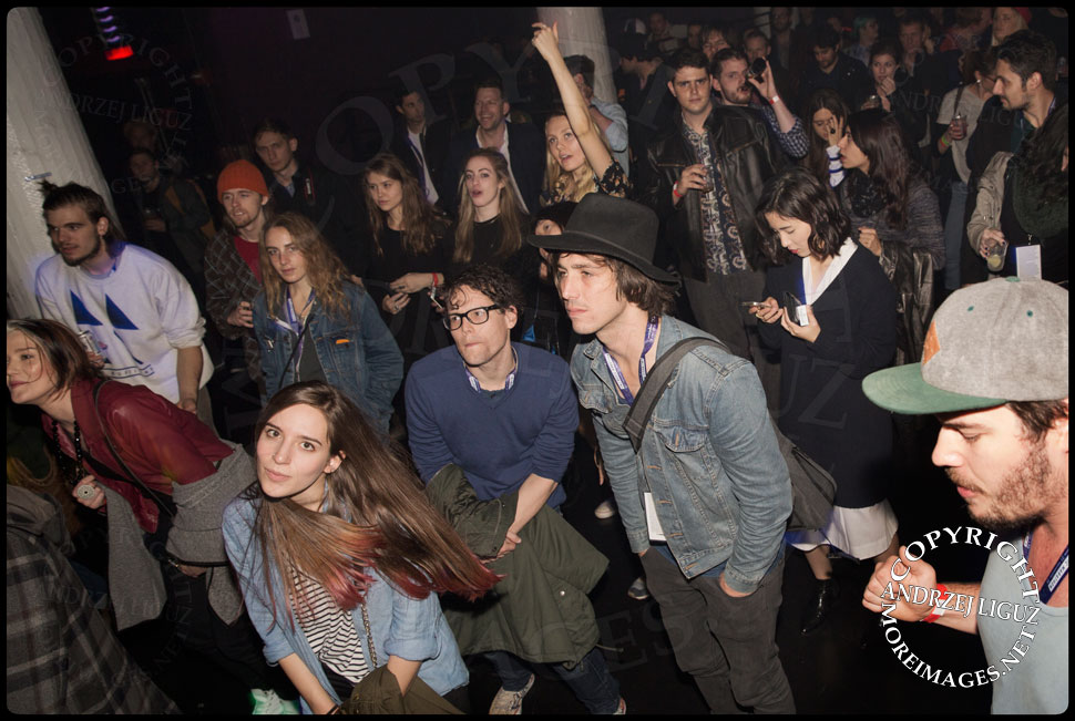 The SAFIA audience last night at CMJ 2014 © Andrzej Liguz/moreimages.net. Not to be used without permission