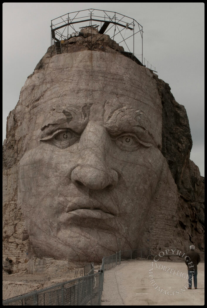 Crazy Horse Monument in South Dakota