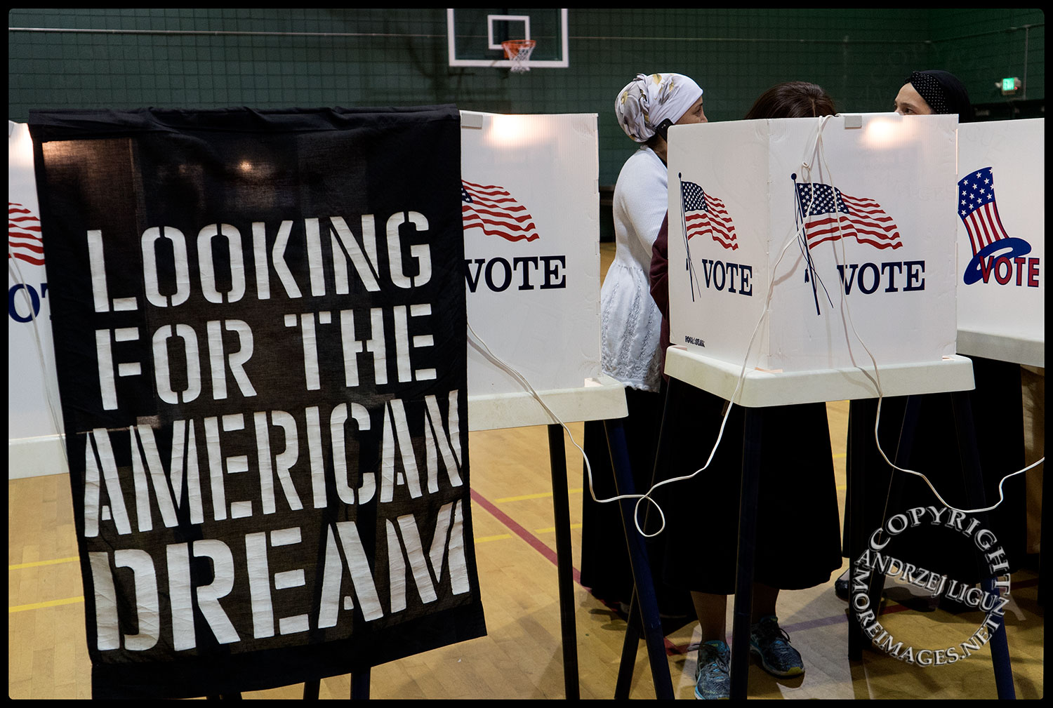Looking for the American Dream at Election 2016 in Hollywood, CA