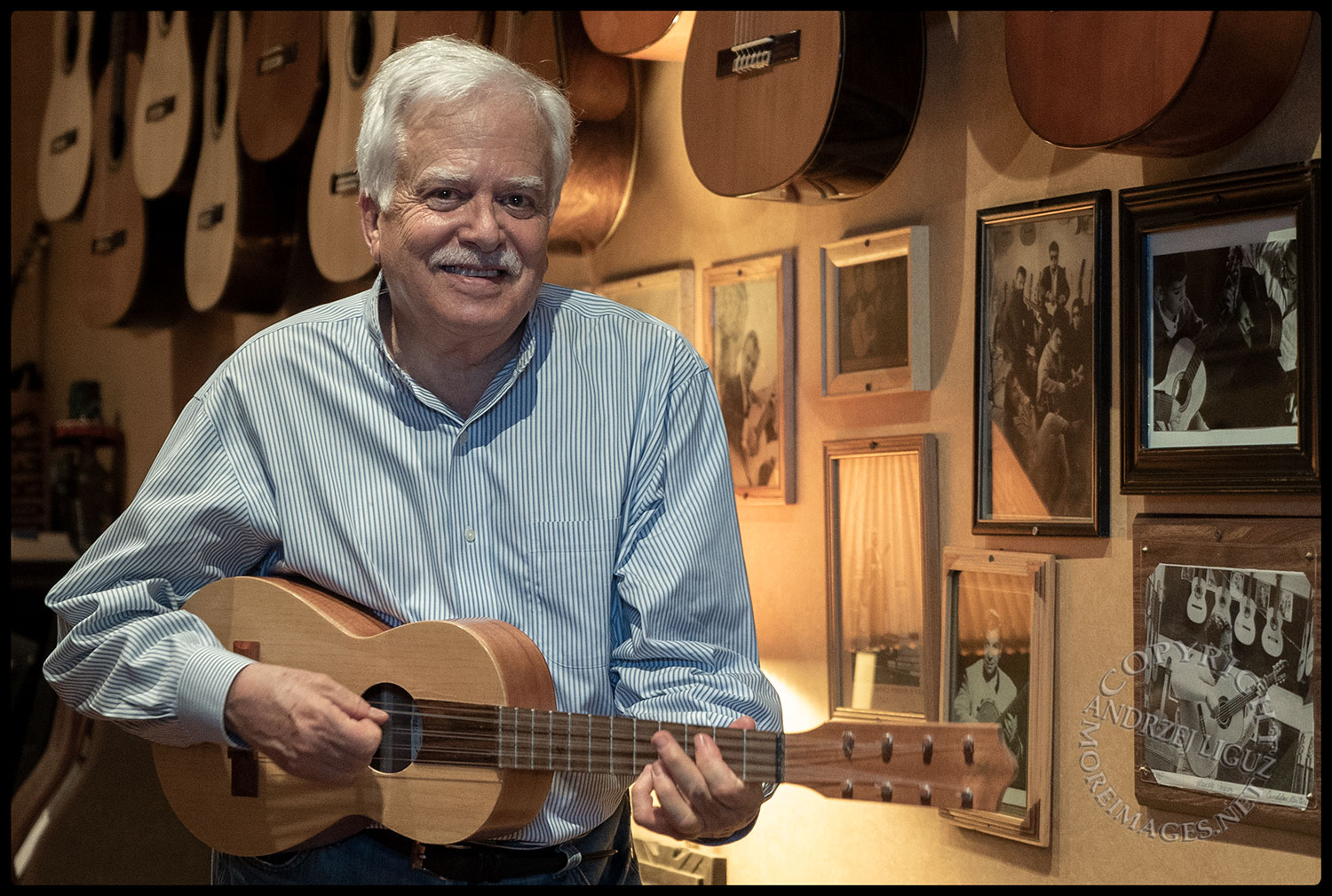 Van Dyke Parks, Candelas Guitars, Boyle Heights, CA Apr 2018