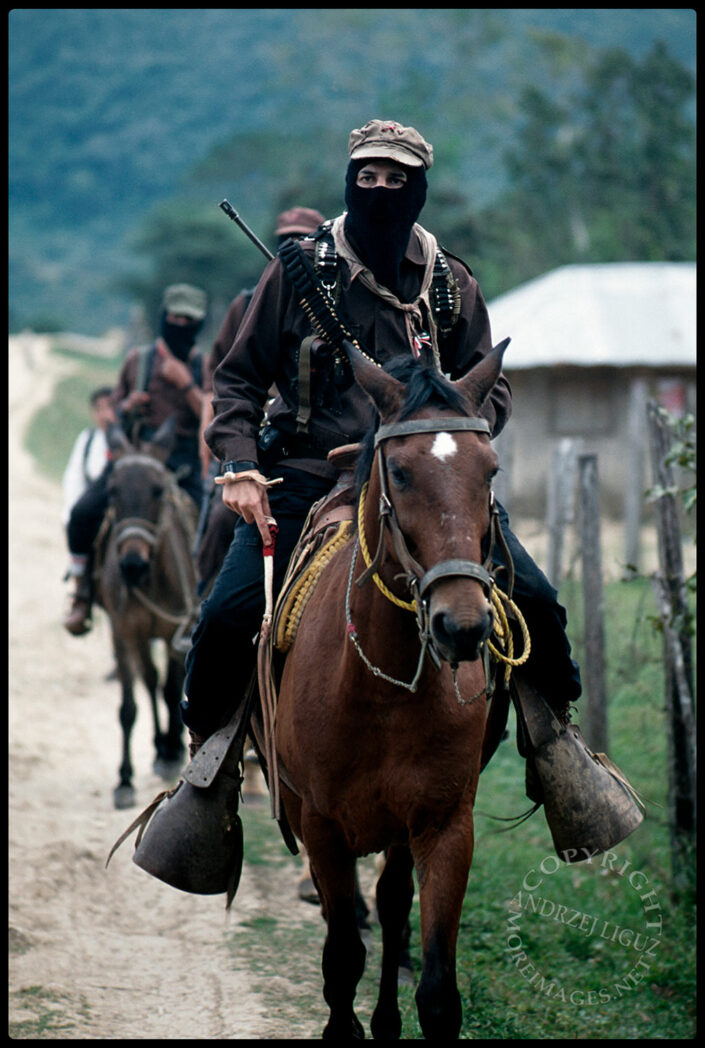 Sub-Commandante Marcos, Zapatista Rebels, Chiapas, Mexico