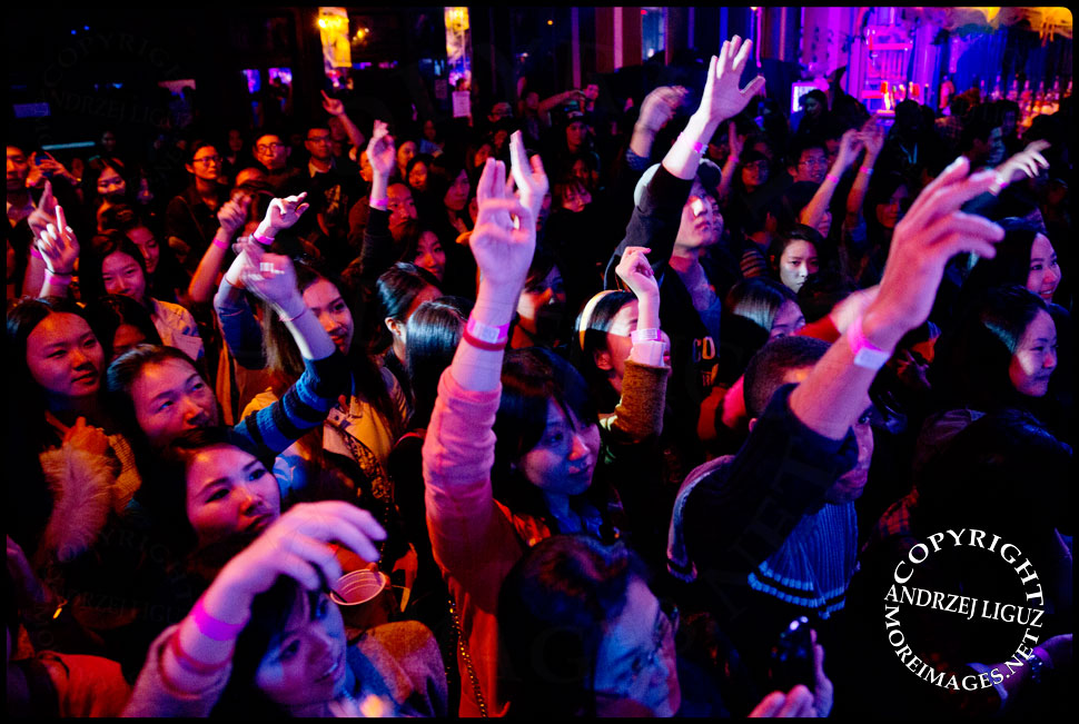 Audience for Chinese rapper Miss Ko at CMJ 2013 © Andrzej Liguz/moreimages.net. Not to be used without permission