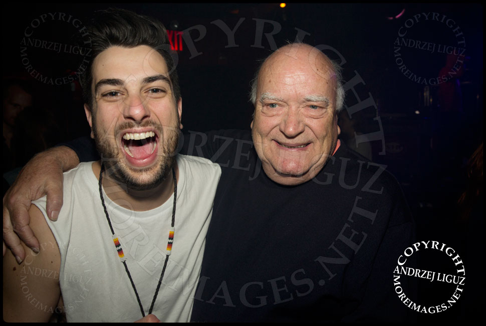 Australian music legend Michael Chug with Daniel from The Griswolds © Andrzej Liguz/moreimages.net. Not to be used without permission