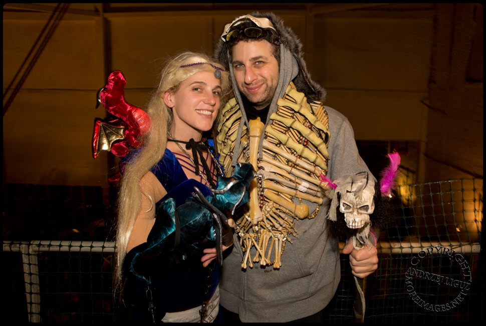 Costume Jim & Nina Kostume Kult at Gowanus Ballroom during the Cirque de Idiotarod Afterparty © Andrzej Liguz/moreimages.net. Not to be used without permission