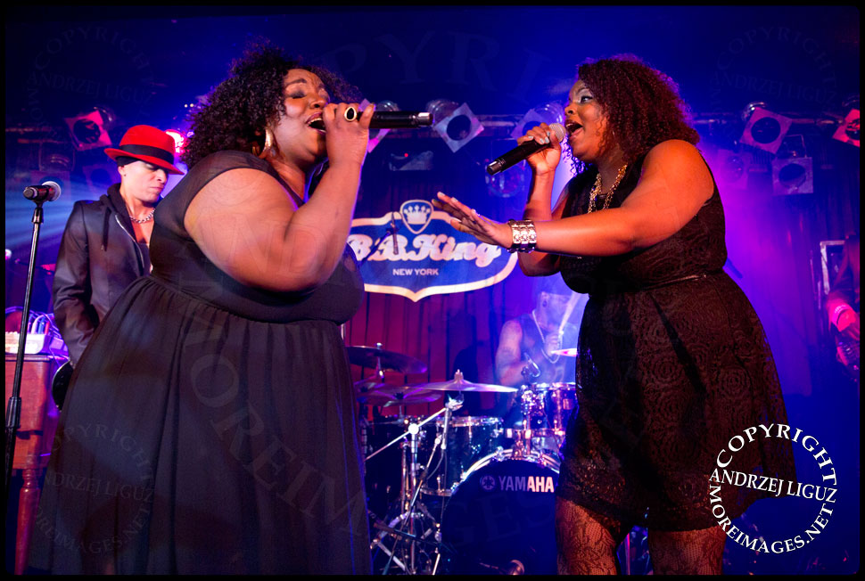 Mama Sae and Ashley Jayy at BB Kings © Andrzej Liguz/moreimages.net. Not to be used without permission