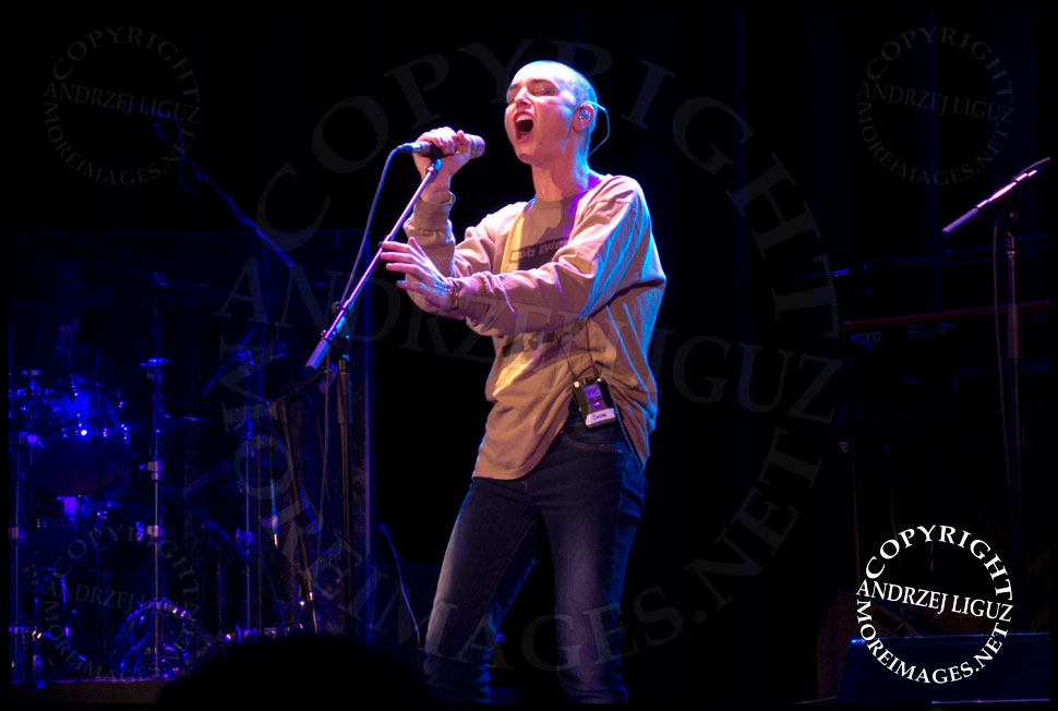 Sinead O'Connor @ Tarrytown Music Hall © Andrzej Liguz/moreimages.net. Not to be used without permission